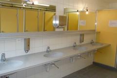 WC-Duschen